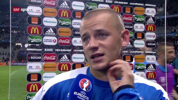 Video «Torschütze Weiss zum Sieg der Slowakei» abspielen