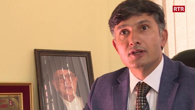 Laschar ir video «Intervista Ramesh Dhamala»
