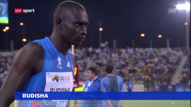 Video «Leichtathletik: Rudisha verpasst WM («sportaktuell»)» abspielen