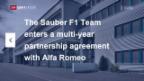 Video «Sauber neu mit Alfa Romeo» abspielen