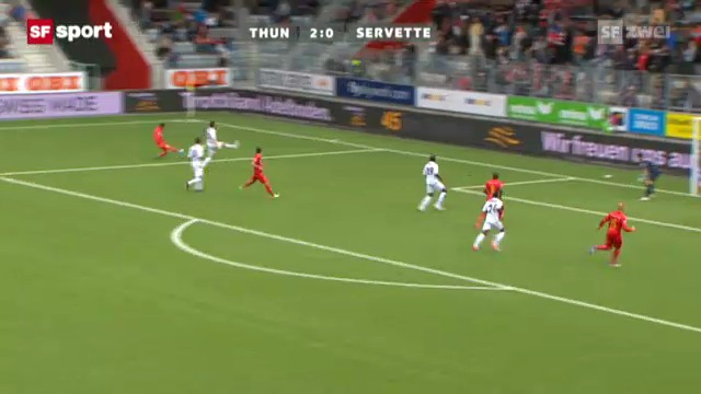 Super League: Thun - Servette
