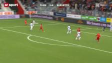 Video «Super League: Thun - Servette» abspielen