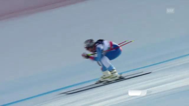 Ski-WM: Super-Kombi Frauen, Abfahrt von Kaufmann-Abderhalden