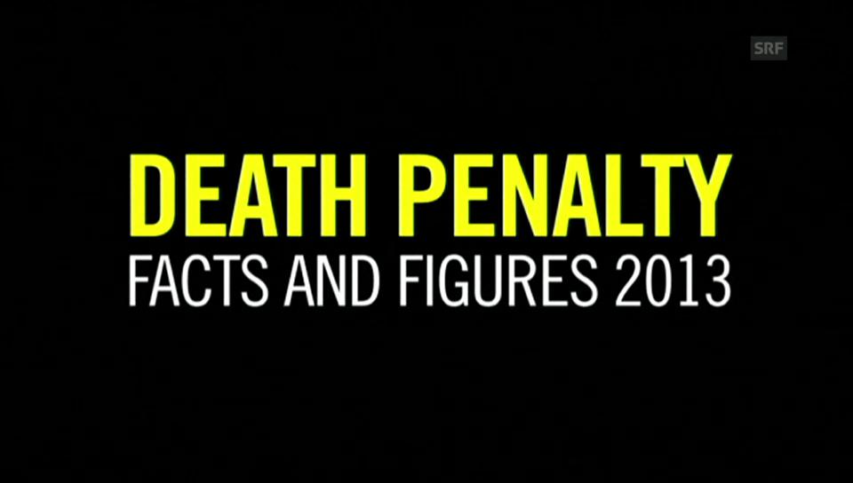 Die Todesstrafen in Zahlen
