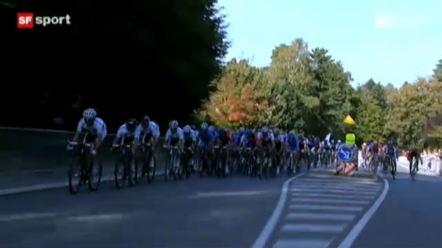 Video «Rad-WM: Strassenrennen der Männer («sportpanorama»)» abspielen