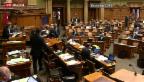 Video «Reaktionen aus der Politik» abspielen
