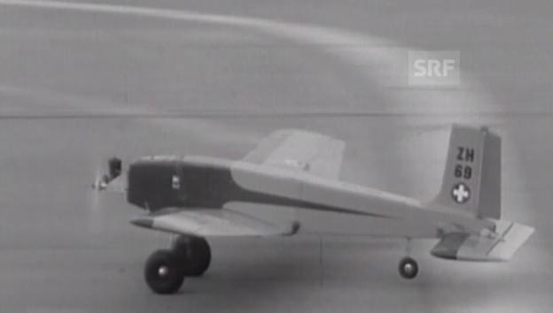 Video «Modellflug WM 1960 in Dübendorf» abspielen