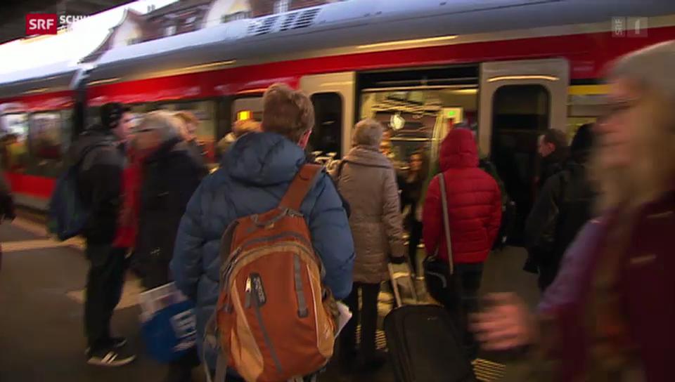 St. Galler S-Bahn besteht Bewährungsprobe