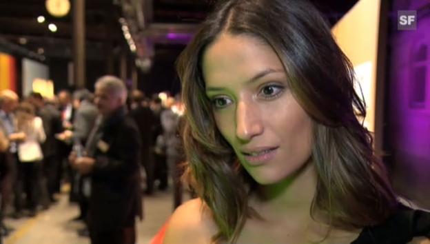 Video «Melanie Winiger beendet das Interview mit g&g in Sekundenschnelle» abspielen