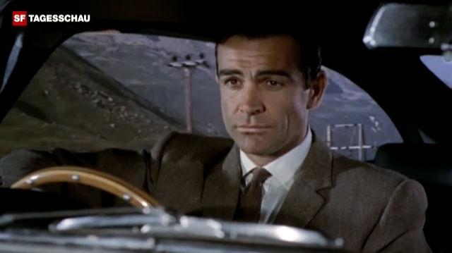 Filmausschnitt aus «Goldfinger»