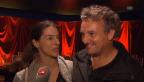 Video «Marco und Christina Rima nach der Spontaneinlage» abspielen