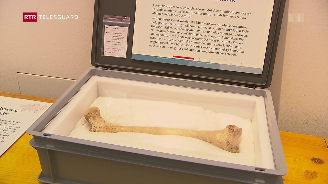 50 onns servetsch archeologic – in'exposiziun da las exchavaziuns