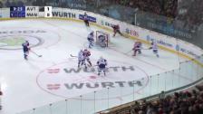 Video «Eishockey: Spengler Cup, Jekaterinburg - Mannheim, Tor zum 2:0» abspielen