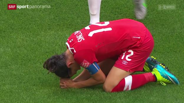 Video «Fussball: Frauen-WM, Gastgeber Kanada scheitert an England» abspielen