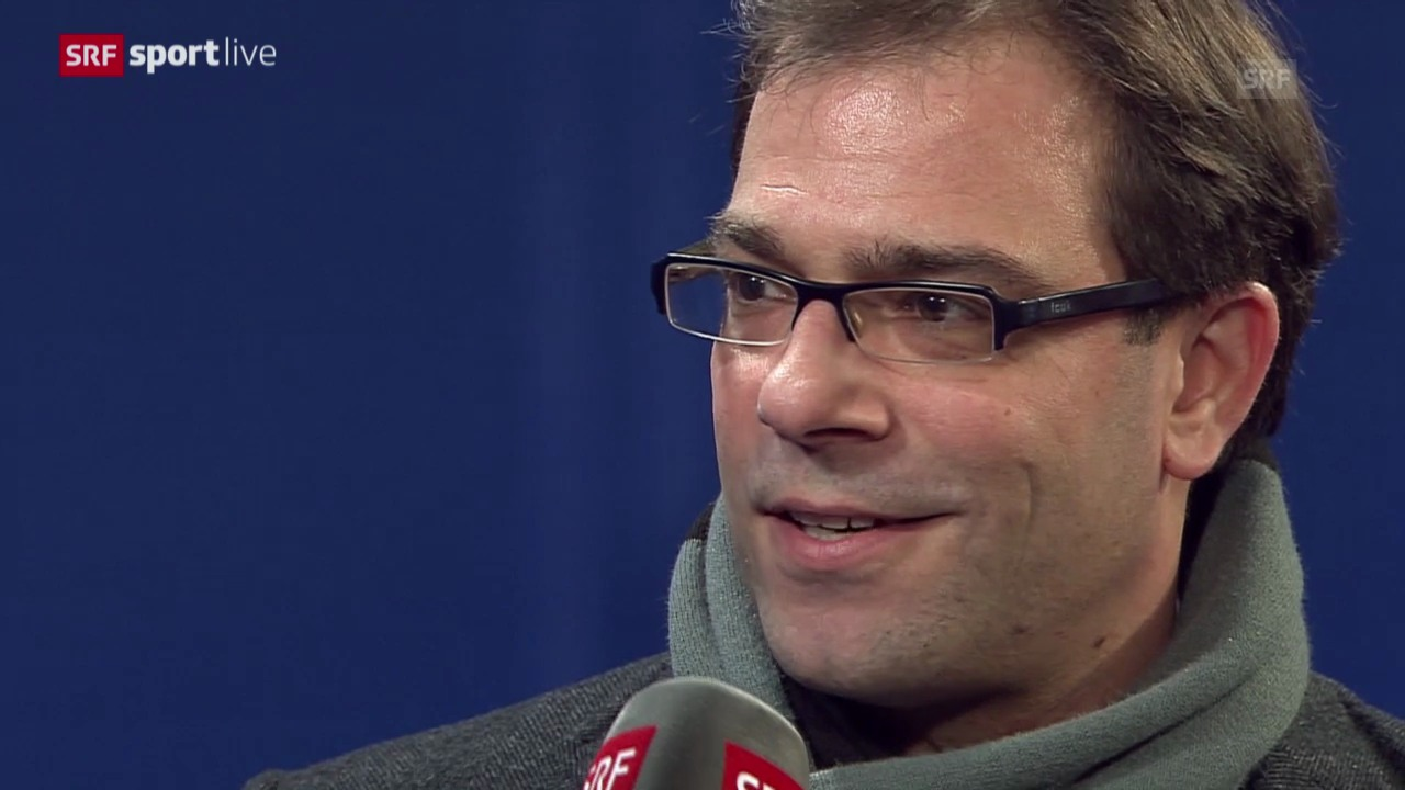 Fussball: Champions League, Schalke - Basel, Georg Heitz zum Out des FCB «sportlive» vom 11.12.2013