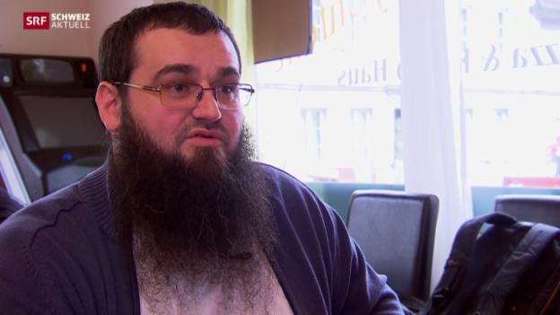 Video «Salafist Emir Tahirovic erklärt sich» abspielen