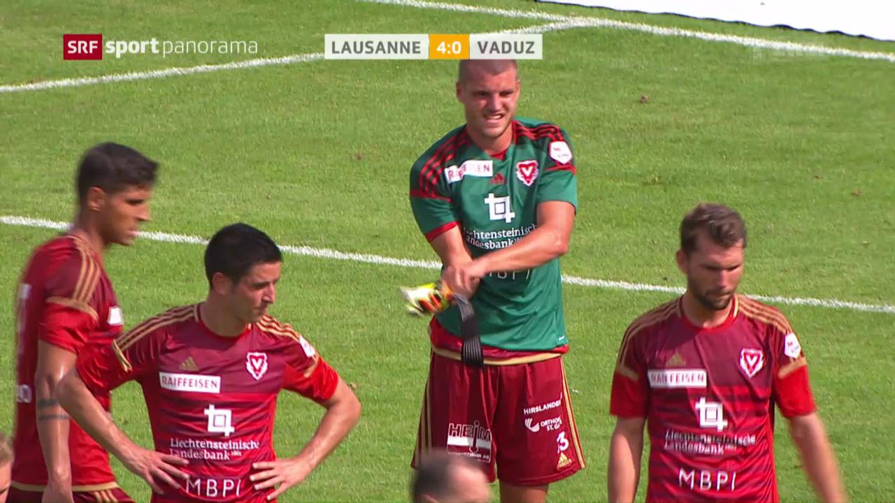 Lausanne deklassiert Vaduz