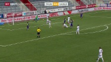 Video «Fussball: Super League, Thun - Vaduz» abspielen