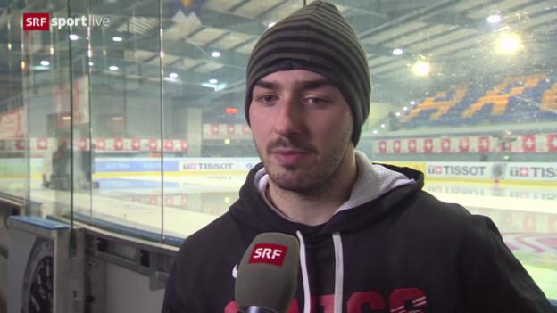 Video «Interview mit Denis Hollenstein («sportlive», 20.12.13)» abspielen