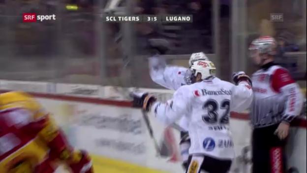 Video «Eishockey: Tigers - Lugano» abspielen