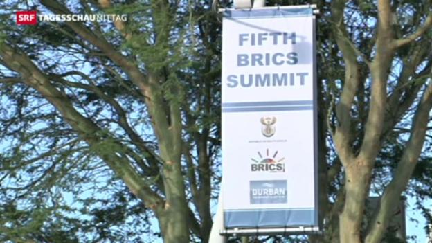 Video «Treffen der BRICS beginnt» abspielen