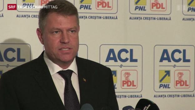 Video «Rumänien hat einen neuen Präsidenten» abspielen