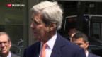 Video «Kerry hofft auf russisches Machtwort» abspielen