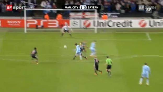 Video «CL: Manchester City - Bayern München» abspielen
