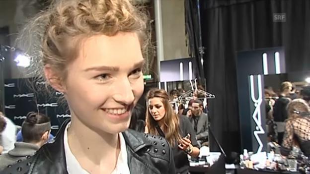 Video «Manuela Frey freut sich wieder in der Heimat zu sein» abspielen