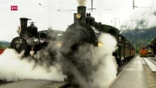 Laschar ir video «Concurrenza da locomotivas da vapur»