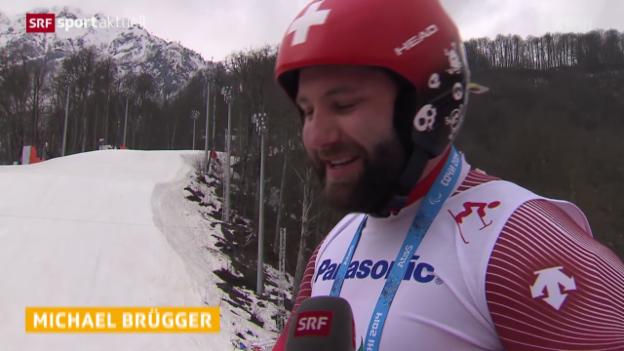 Video «Paralympics: Schweizer Medaillen-Träume im Ski Alpin» abspielen