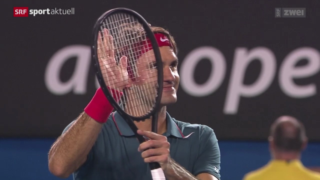 Tennis: Australian Open, Federer - Murray