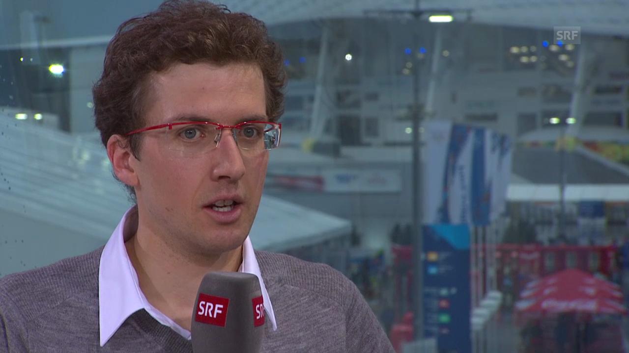 Simon Ammann zu Gast im Studio (sotschi direkt, 18.2.2014)