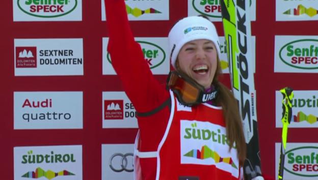 Video «Katrin Müller – eine Medaillenhoffnung für Sotschi» abspielen