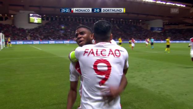 Video «Zusammenfassung Monaco - Dortmund» abspielen