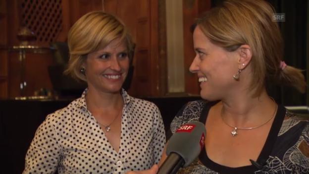 Video «Schwesternliebe: Sabine und Franziska Dahinden» abspielen