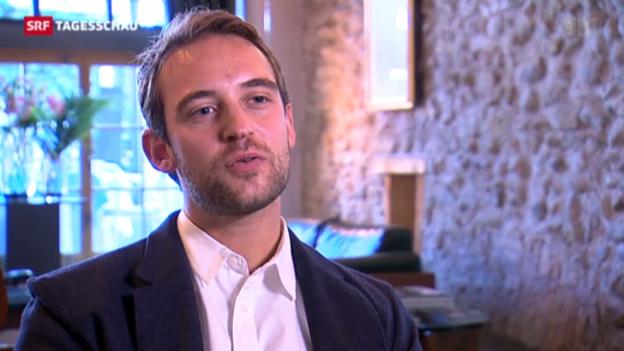 Video «Shooting-Star Joël Dicker» abspielen