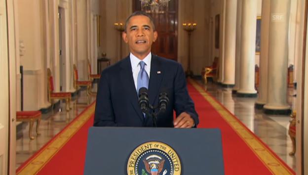 Video «Obama zu Syrien (Engl.): Die aktuelle Situation» abspielen