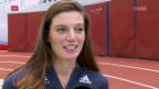 Video «Léa Sprunger blickt auf die Hallen-WM voraus» abspielen