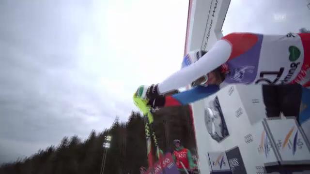 WM-Slalom: 2. Lauf Vogel