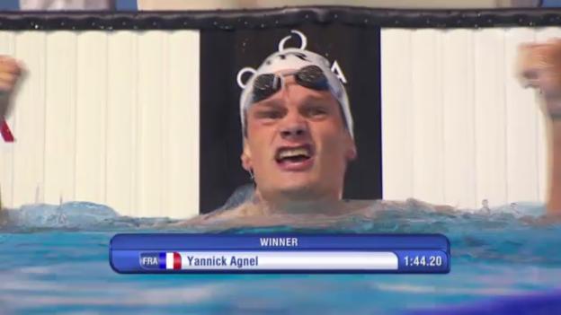 Video «Schwimmen: Final 200 m Freistil der Männer (unkommentiert)» abspielen