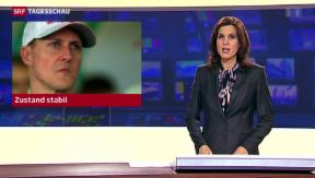 Video «Zustand Schumacher: unverändert kritisch» abspielen