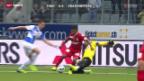 Video «Fussball: Thun - Grasshoppers» abspielen