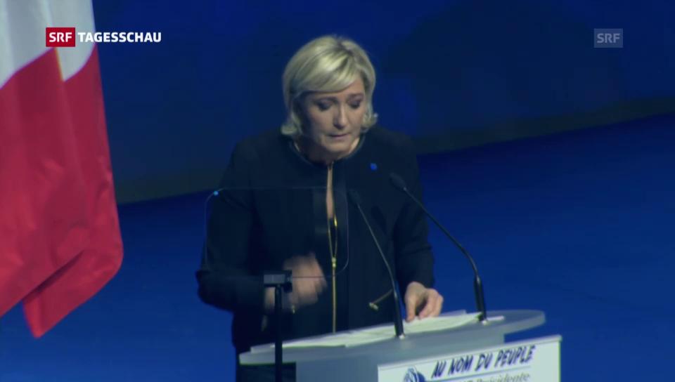 Le Pen startet Wahlkampf