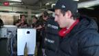 Video «Formel 1: Fabio Leimer testet im Lotus» abspielen