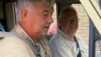 Video «Aschi Widmers Reisegruppe bricht in die Wildnis auf» abspielen