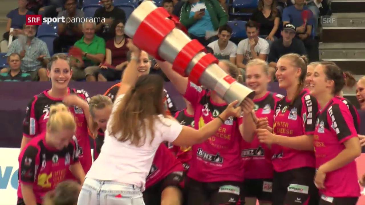 Spono Nottwil gewinnt den Supercup bei den Frauen