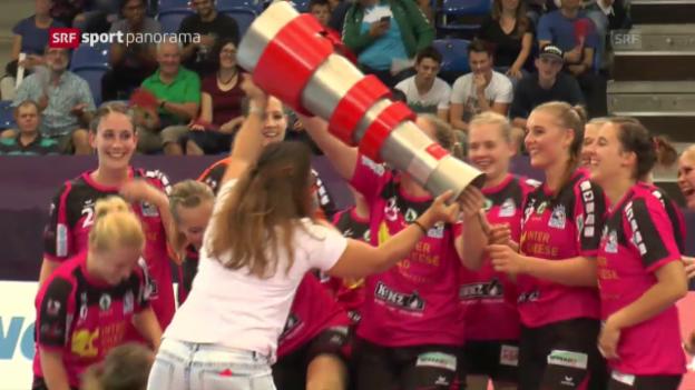 Video «Spono Nottwil gewinnt den Supercup bei den Frauen» abspielen