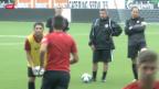 Video «FUSSBALL: Der FCZ und Thun vor ihren EL-Einsätzen» abspielen