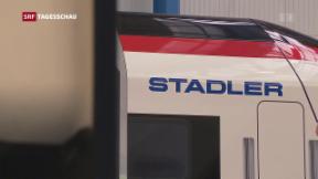 Video «Stadler Rail erhält Konkurrenz aus China » abspielen